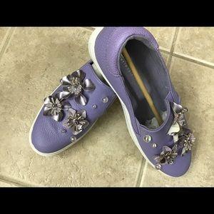 Kenneth Cole Reaction LAVENDER Floral Sneaker 9.5